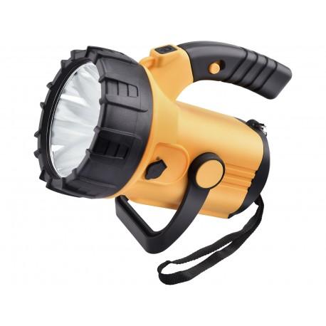 Extol LIGHT svítilna 500lm CREE XML s bočním světlem 300lm, nabíjecí, CREE XML 10W LED, COB 3W (43129)